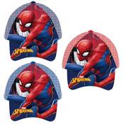 Official Childrens Marvel Spiderman Assorted Baseball Cap
