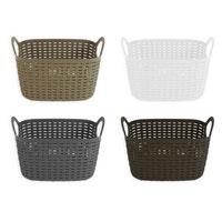 Rattan Style Storage Basket Small