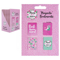 Mum In A Million Magnetic Bookmarks 4 Pack