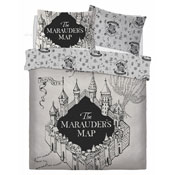 Official Harry Potter Marauders Map Reversible Duvet Set