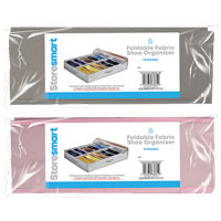 Foldable Fabric Shoe Organiser 12 Pocket