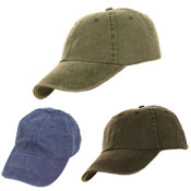 Mens Classic Plain Assorted Baseball Cap