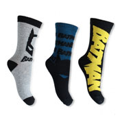 Boys Batman Design Character Socks