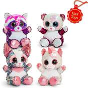 20cm Glitter Sequin Motsu Mix A Soft Toys