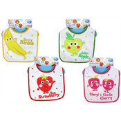 Baby Bibs with Novelty Prints
