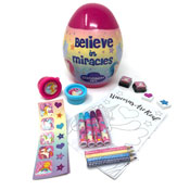 Magical Unicorn Stationary Set Inside Egg
