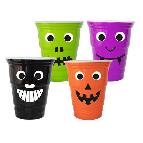 Googly Eyes Plastic Cups