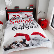 Snuggle Up Christmas Pals Duvet Set