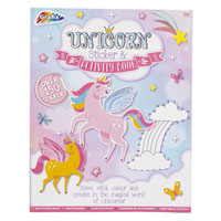 Unicorn Activity & Sticker Book