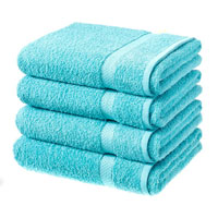 Luxury Cotton Bath Sheet Turquoise