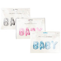 Baby Foil Balloons Pack