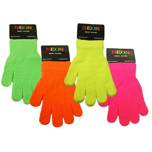 Kids Neon Magic Gloves
