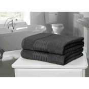 Windsor Egyptian Combed Cotton Bath Sheet Grey