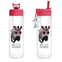 Hydration Drinking Bottle Zebra 600ml