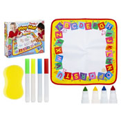 Washable Activity Playmats With Markers