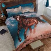 Shadow Horse Duvet Set Panel