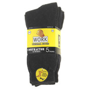 Thermal Work Socks 5 Pair Pack