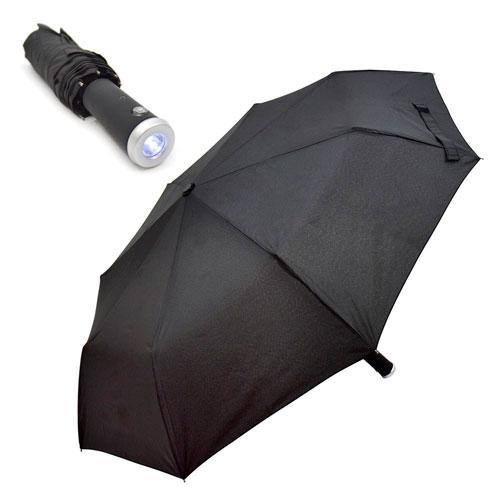 Torch Umbrella With Auto Open Close