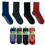 Mens Slipper Gripper Socks