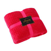 Luxury Throw Wave Pomegranate