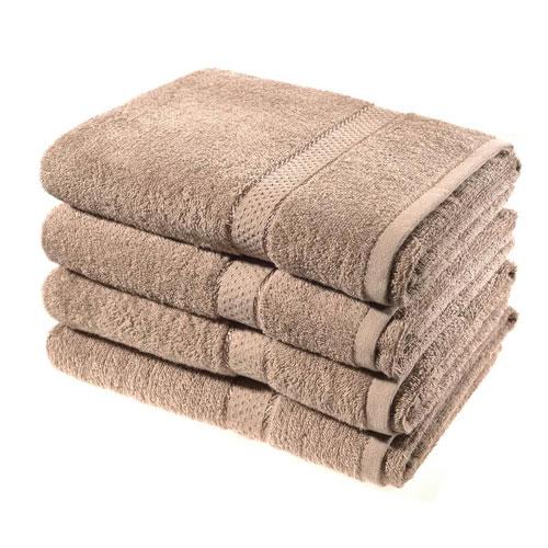 Luxury Cotton Bath Sheet Mink