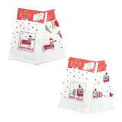 Christmas Dogs & Cats Tea Towels