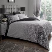 Ohari Ombre Grey Luxury Duvet Set