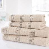 Spa Luxury Cotton Bath Sheets Taupe