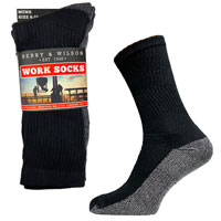 Mens Berry And Wilson Work Socks