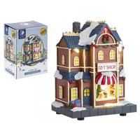 Miniature Resin Light Up Gift Shop