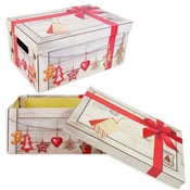 Christmas Eve Box Red Ribbon