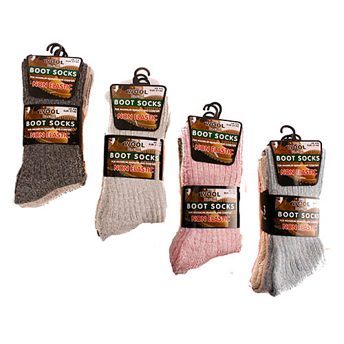 Womens Non Elastic Boot Socks