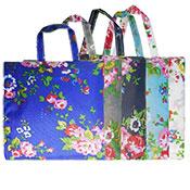 Vintage Flowers Foldaway Shopping Bag Assorted