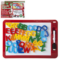 Elf Wipe Off Board With Magnetic Letters