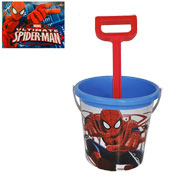 Spider-Man Blue Bucket With Spade