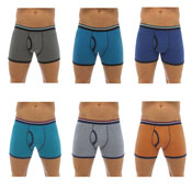 Mens Cotton Stretch Trunks 3 Pack
