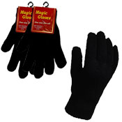 One Size Black Magic Gloves