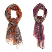 Fashion Scarf Kimberly Diamond Print