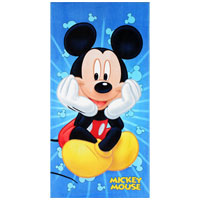Official Mickey Mouse Sitting Beach Towel
