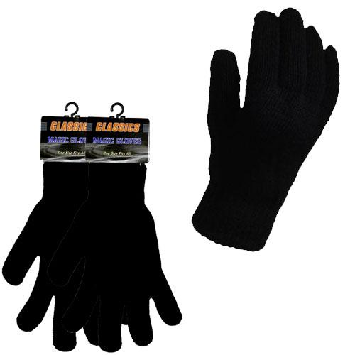 Adult Black Classics Magic Gloves