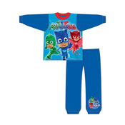 Boys Toddler PJ Masks Blue Snuggle Fit Pyjama