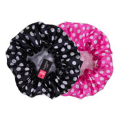 Printed Dots Shower Cap