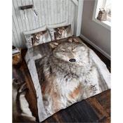 3D Wolf Duvet Set