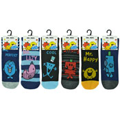 Mens Mr Men Character Socks