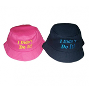 "Childrens ""I Didn't Do It"" Bush Hat"