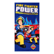 Official Fireman Sam Power Beach Towel