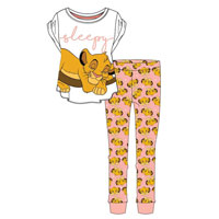 Ladies Official Lion King Sleepy Pyjamas