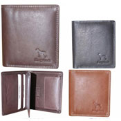 Mens Leather Ridgeback Wallet With Card Slot