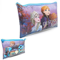 Frozen School Set In PVC Pencil Case