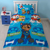 Paw Patrol Spy Reversible Duvet Single